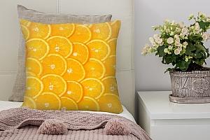 3D Подушка «Дольки апельсина»