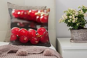 3D Подушка «Красная смородина»