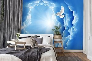 3D Фотообои «Птицы в небе» вид 7