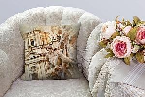 3D Подушка «Фреска Рим»  вид 4