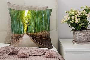3D Подушка «Бамбуковый лес»