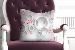 3D Подушка «Сакура в цвету»  вид 4