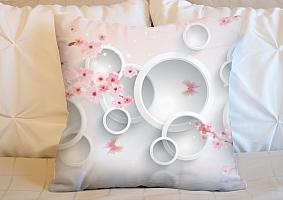 3D Подушка «Сакура в цвету»  вид 5