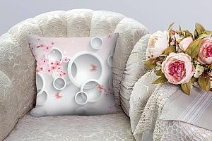 3D Подушка «Сакура в цвету»  вид 7