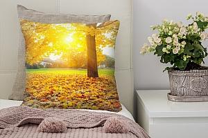 3D Подушка «Осенний парк»  вид 7