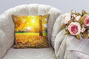 3D Подушка «Осенний парк»  вид 8