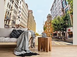 3D фотообои 3D Фотообои  «Улица города»  вид 2