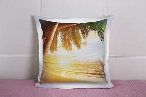 3D Подушка «Закат под пальмами»  вид 9
