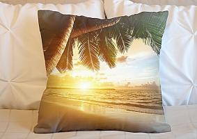 3D Подушка «Закат под пальмами»  вид 5
