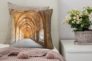 3D Подушка «Арки Колонны»