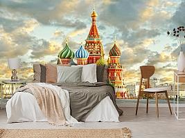 3D Фотообои  «Кремль Москва»  вид 6