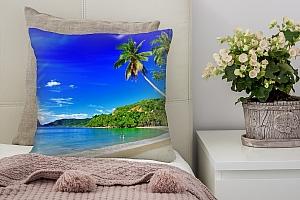 3D Подушка «Море панорама»