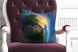 3D Подушка «Земля»  вид 3