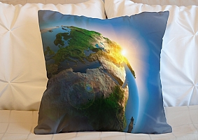 3D Подушка «Земля»  вид 5