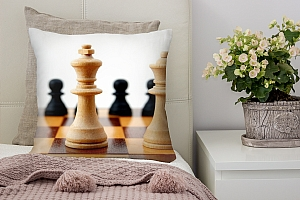 3D Подушка «Шахматы»