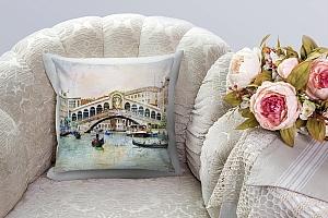 3D Подушка «Венеция маслом»