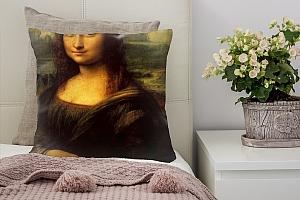 3D Подушка «Джоконда Леонардо да Винчи»