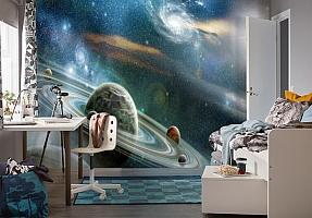 3D Фотообои  «Космический пейзаж»  вид 4