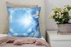 3D Подушка «Птицы в небе»