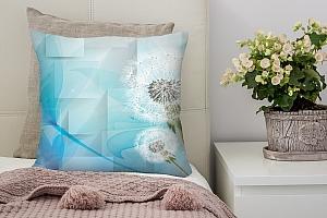 3D Подушка «С одуванчиками»