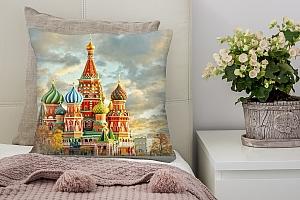 3D Подушка «Кремль Москва»