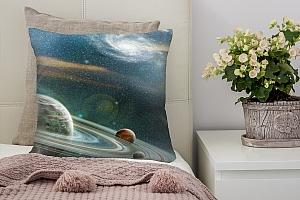 3D Подушка «Космический пейзаж»  вид 6