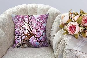 3D Подушка «Цветущее дерево»  вид 3