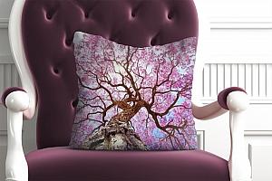 3D Подушка «Цветущее дерево»  вид 5