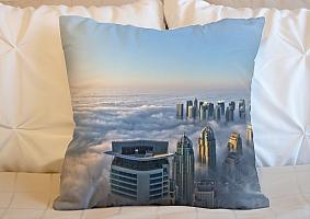 3D Подушка «Туман над Дубаем»