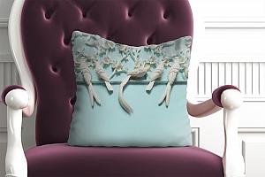 3D Подушка «Объемная инсталляция с птицами»  вид 4