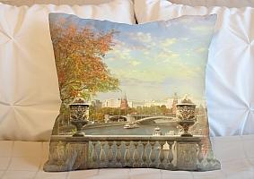 3D Подушка «Осень в Москве»