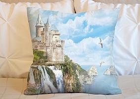 3D Подушка «Голубые небеса»