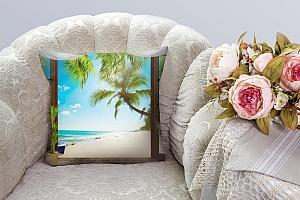 3D Подушка «Терраса у теплого моря» вид 6