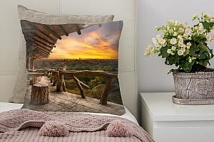 3D Подушка «Веранда терраса»