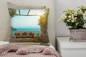 3D Подушка «Солнечная терраса»
