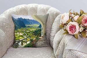 3D Подушка «Солнечная веранда» вид 6