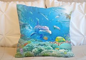 3D Подушка «Вид из глубины» вид 3