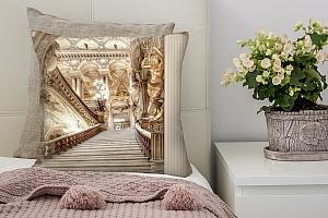 3D Подушка «Лестница в богатом замке»