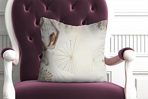 3D Подушка «Лебяжий танец»