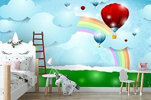 3D Фотообои «Лестница к радуге» вид 4