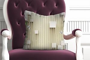 3D Подушка «Объемные кубы»