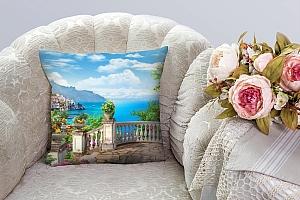 3D Подушка «Лестница к морю» вид 4
