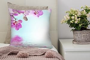 3D Подушка «Нежность над водой»