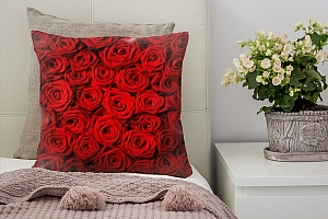 3D Подушка «Миллион алых роз»