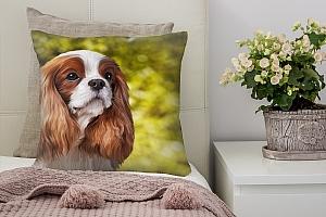 3D Подушка «Длинноухая собачка»