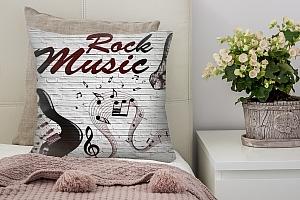 3D Подушка «В стиле Rock»