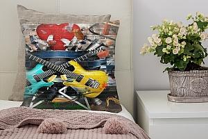 3D Подушка «Улетный кавардак»