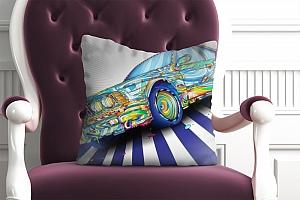 3D Подушка «Красочный бумер» вид 4