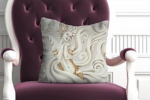 3D Подушка «Мечтающая богиня»