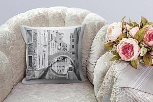 3D Подушка «Вид на канал»